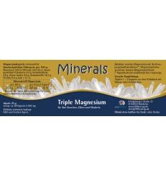 Minerals Triple Magnesium 45g ca. 90 Kapseln