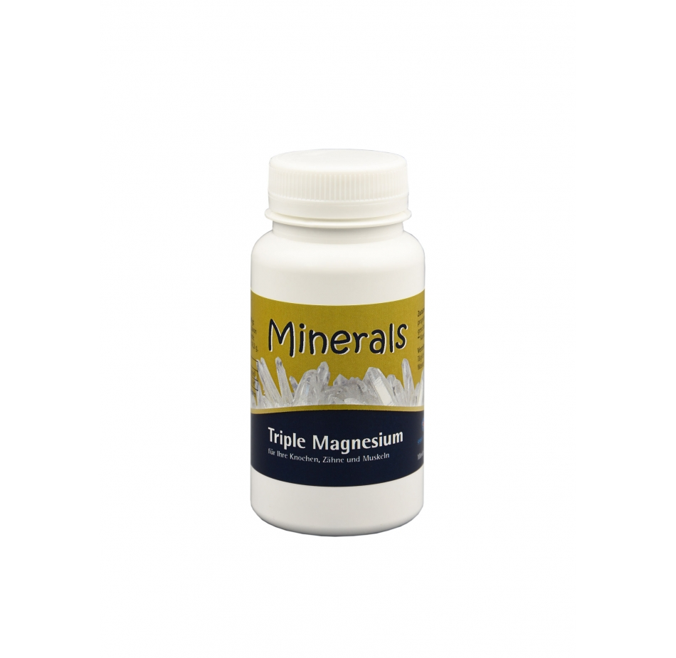 Minerals Triple Magnesium 45g ca. 90 Kapseln Mineralien