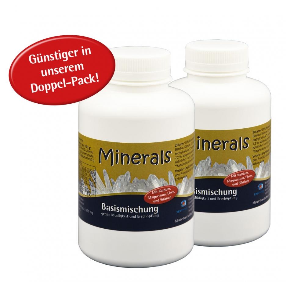 "Minerals Basismischung, 2 x 84g, ca. 260 Kapseln im ""Doppelpack"""