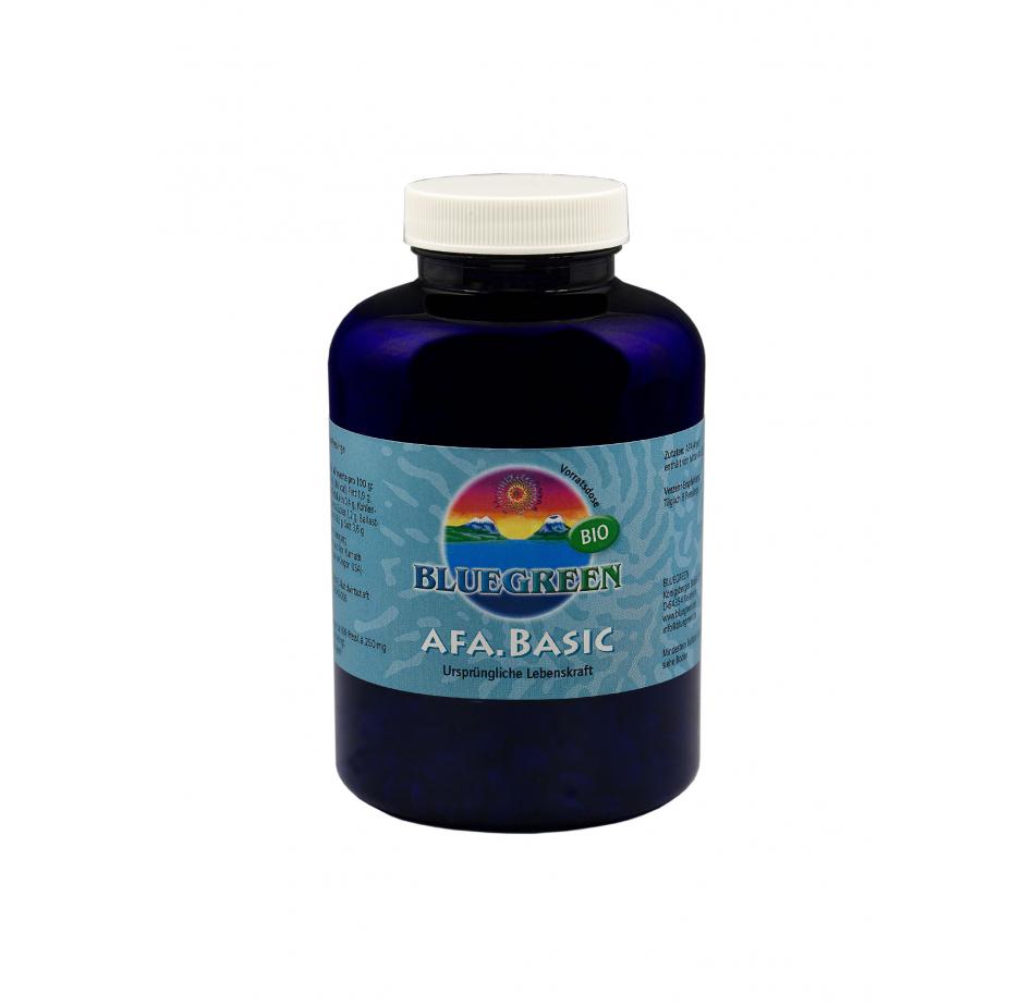 BLUEGREEN AFA BASIC BIO Presslinge 250g, ca. 999 Stück  Vegan Glutenfrei AFA Algen Spirulina