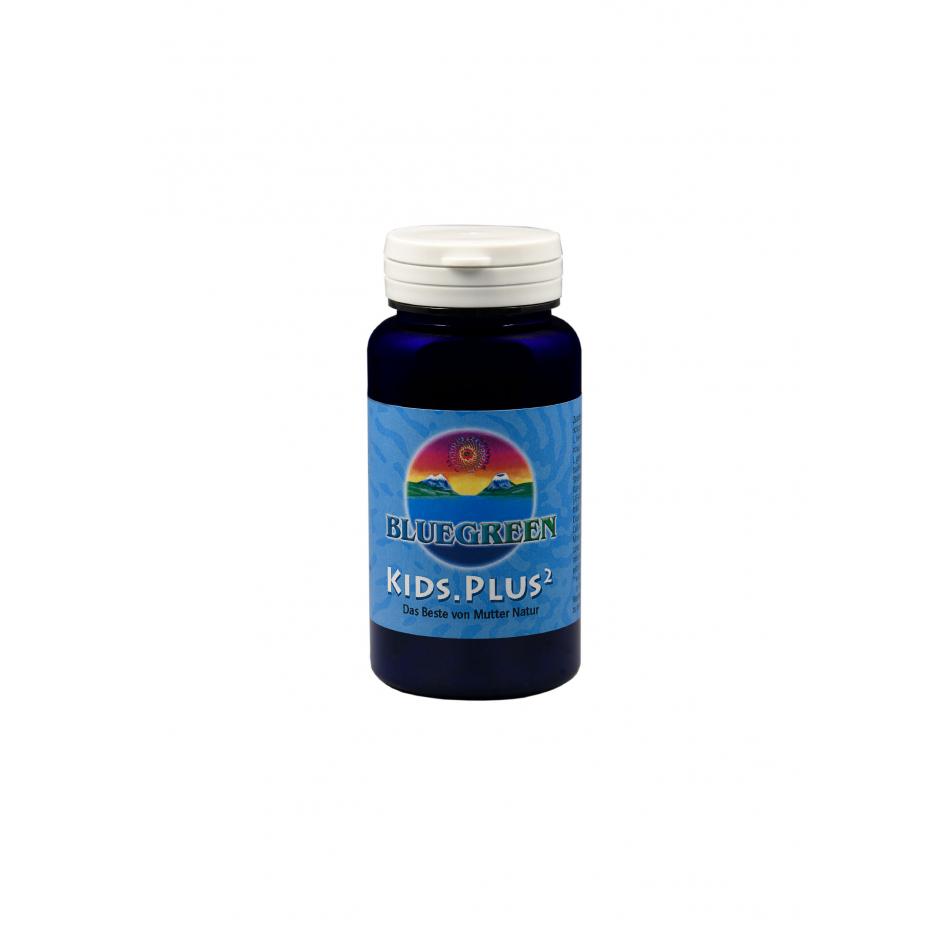 BLUEGREEN KIDS.PLUS² Presslinge 30g, ca. 120 Stück  Vegan Glutenfrei AFA Algen Spirulina