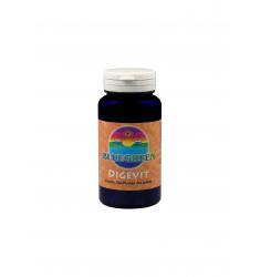 BLUEGREEN DIGEVIT (Nahrungsenzyme) mit Brokkolikeimlingen! 50 g ca. 100 Stück Kapseln
