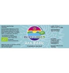 BLUEGREEN AFA BASIC BIO Presslinge 90g, ca. 360 Stück á 250mg Familiendose