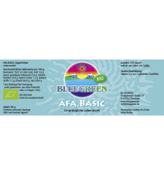 BLUEGREEN AFA BASIC BIO Pulver, 90g