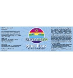 BLUEGREEN KIDS.PLUS Kapseln 62g, ca. 240 Stück 6 Wochen Packung