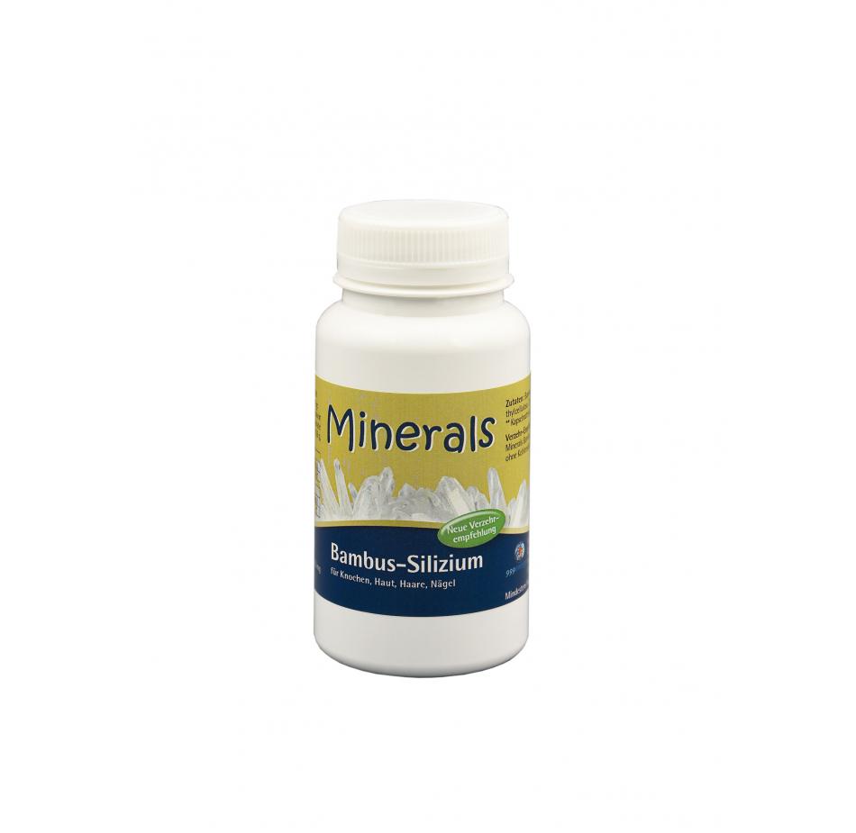 Minerals Bambus-Silzium, 39g, ca. 90 Kapseln a 433 mg