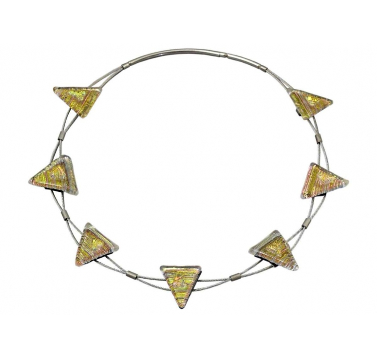 DELIGHT, Sinus Halskette 7teilig EC600DHS Energy Collection Unikate Handarbeit Ringe Halsketten Armbänder Schmuck