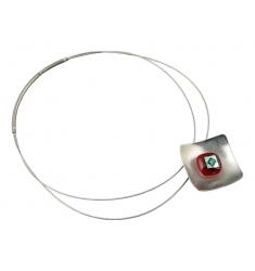 INKA Halskette mit 2-fach Edelstahlband, beschichtet HIP-Serie