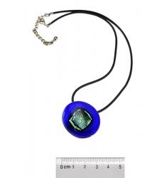 HEART & VISION, Halskette mit Naturkautschukband