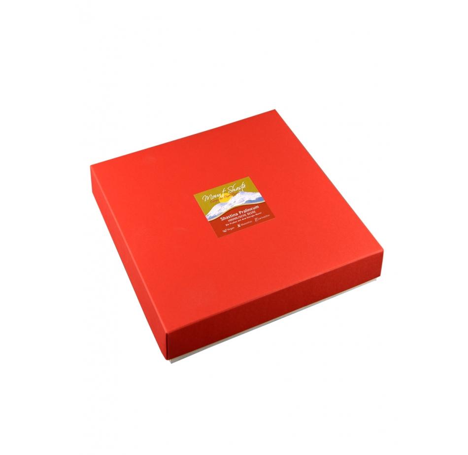 MOUNT SHASTA PRALINEUM 9er Box – Himbeer Pralinen Schokolade Genuss Nugat