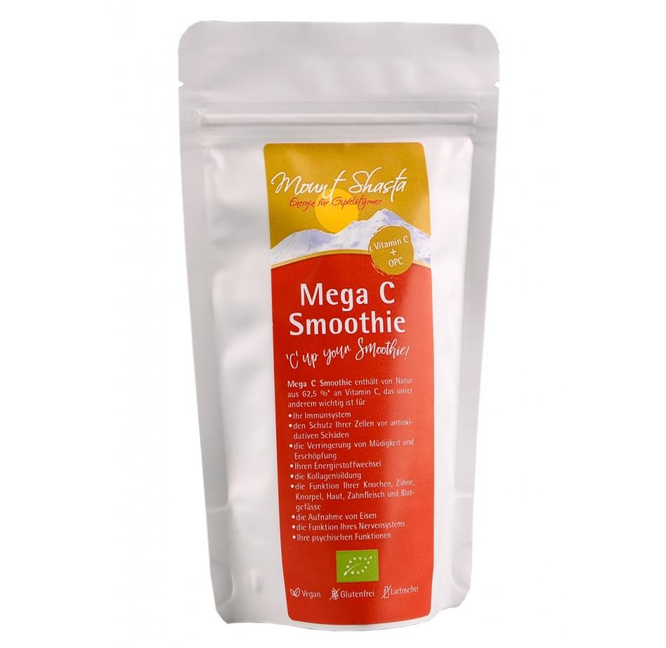 Mount Shasta Mega C Smoothie 150 g Fruchtpulvermischung Vitamin C  OPC