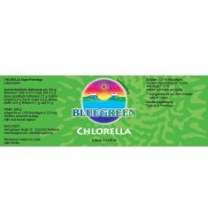 """BLUEGREEN CHLORELLA """"Pyrenoidosa"""" Presslinge 288g, ca. 1150 Stück, Familiendose - + 10% AFA gratis"""