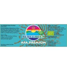 BLUEGREEN AFA Premium BIO Presslinge 250g, ca. 999 Stück á 250mg, im Violettglas