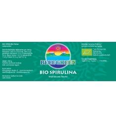 BLUEGREEN BIO SPIRULINA Pulver 250g