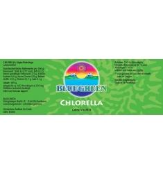 "BLUEGREEN CHLORELLA ""Pyrenoidosa"" Presslinge 105g, ca. 420 Stück - + 10 % AFA gratis"