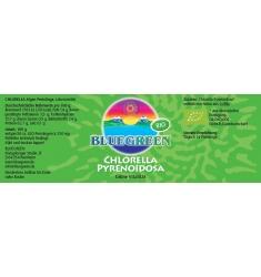 "BLUEGREEN BIO-CHLORELLA ""Pyrenoidosa"" Presslinge 105g, ca. 420 Stück"