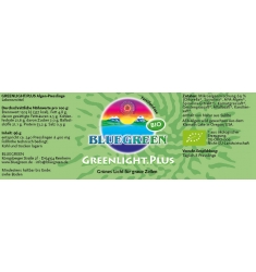 BLUEGREEN GREENLIGHT.PLUS BIO Presslinge 96g, ca. 240 Stück
