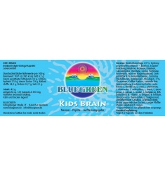 BLUEGREEN KIDS BRAIN KAPSEL 42g, ca. 120 Kapseln