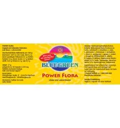BLUEGREEN POWER FLORA 17g, ca. 60 Kapseln