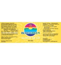 "BLUEGREEN COENZYM SUPER Q10 Kapseln 2 x 12g,  ca. 120 Stück im ""Doppelpack"""
